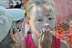 Emma and Face Paint