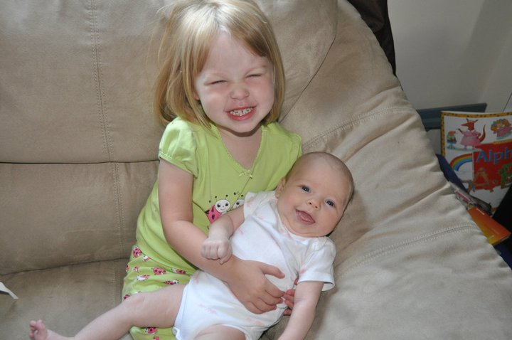 Baby Rose and Emma