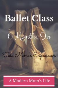 Ballet Class - 6 Months In