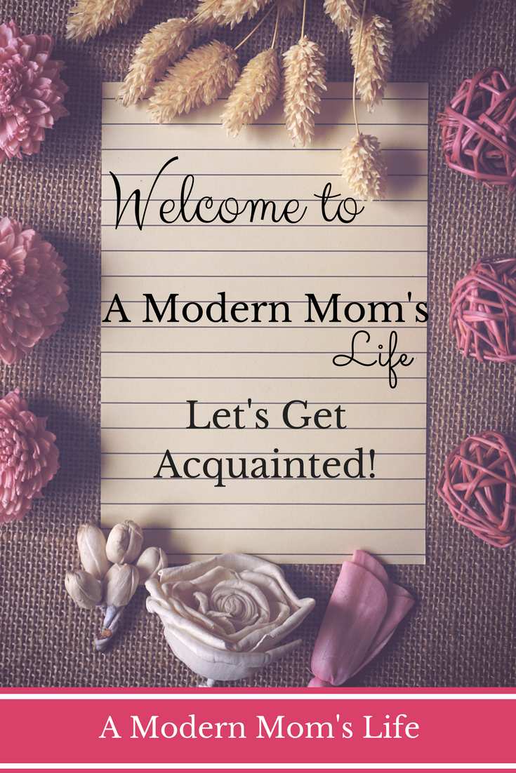 Welcome to A Modern Mom's Life - A blog for working parents.