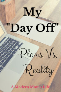 My Day Off Plans vs Reality