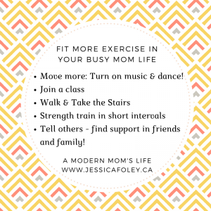 More Exercise Busy Moms