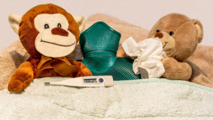 How to survive staying home with a sick kid