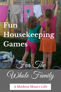 Fun Housekeeping Games For The Whole Family
