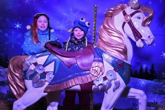 Girls Carousel Horse WM