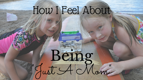 """How I Feel About Being """"Just A Mom"""""""