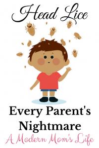 Head Lice - Every Parent's Nightmare