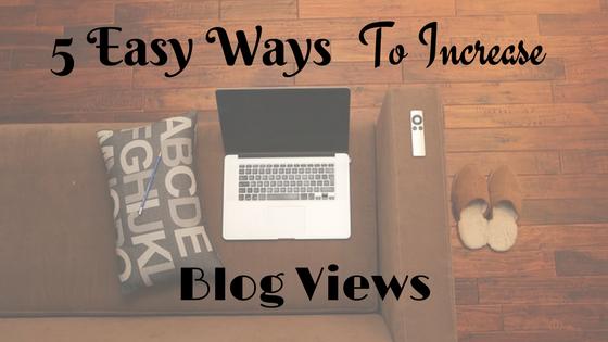 increase blog views