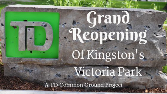 Grand Reopening of Kingston's Victoria Park