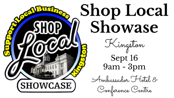 Shop Local Showcase Kingston Sept 16th 2017