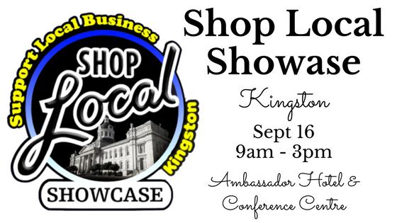 Shop Local Showcase Kingston Sept 16th 2017