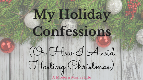 My Holiday Confessions