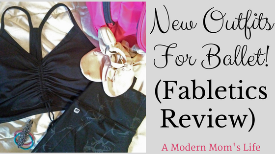 New Outfits For Ballet! Fabletics Review