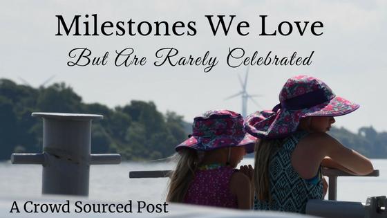 Milestones we love