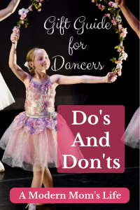 Gift Guide for Dancers - Dos and Don'ts