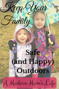 Keep Your Family Safe and Happy Outdoors
