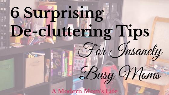 Surprising De-cluttering Tips
