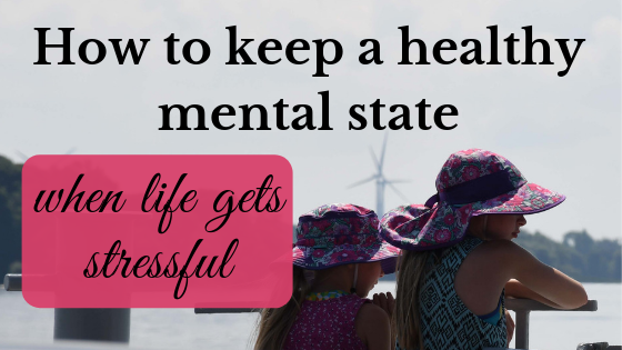 keep a healthy mental state