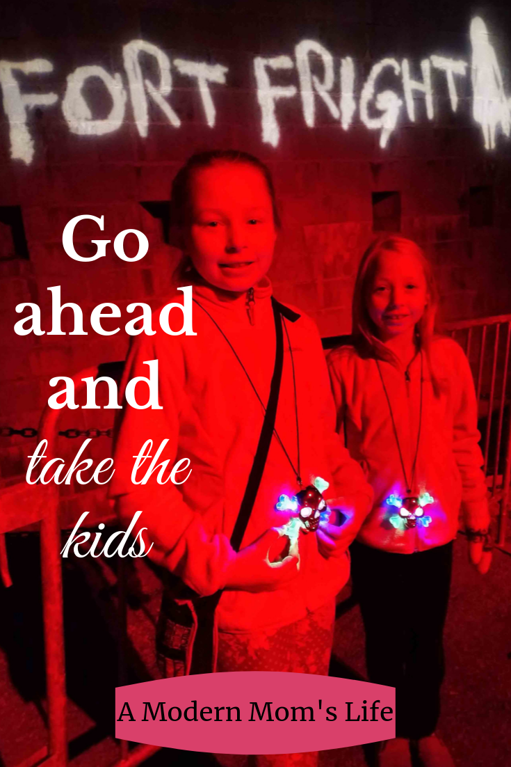 Fort Fright: Go ahead and take the kids