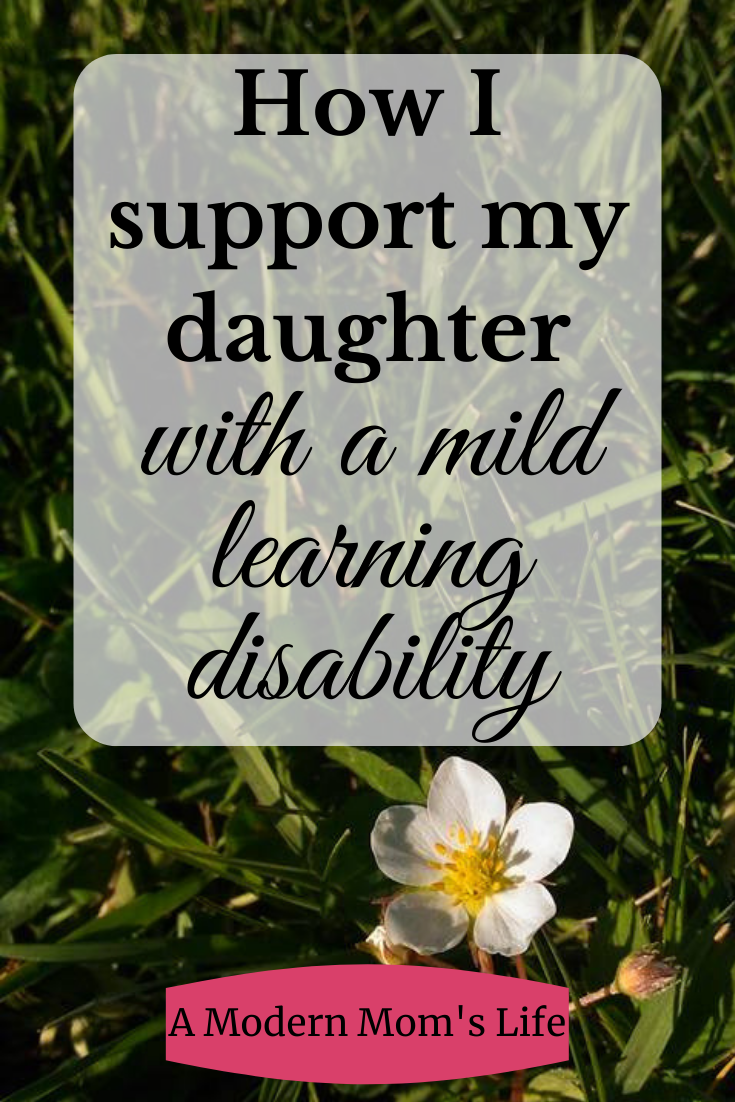 support my daughter with a mild learning disability