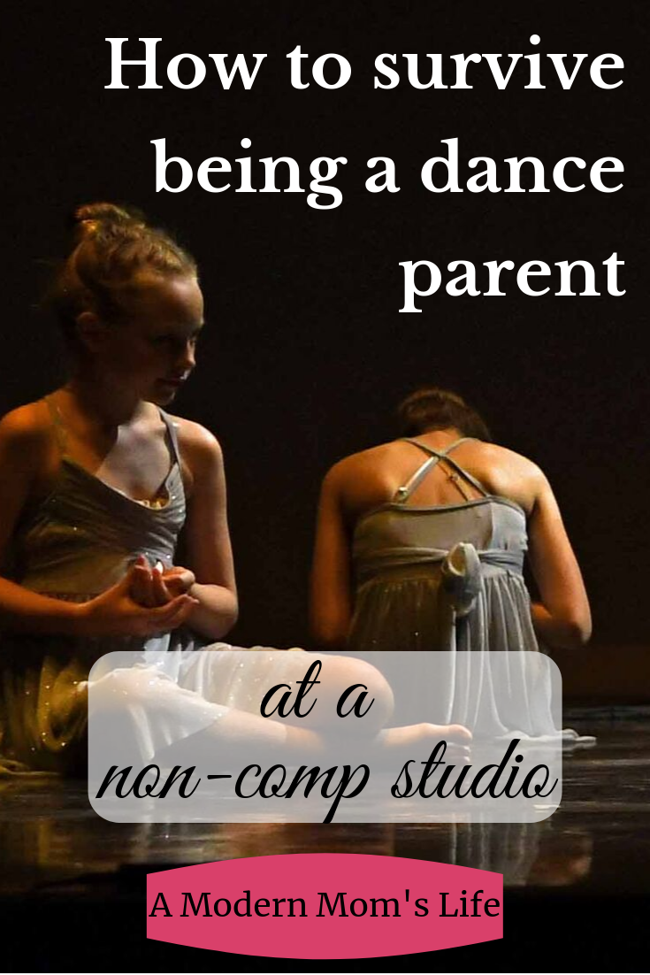 How to survive being a dance parent (at a  non-comp studio)