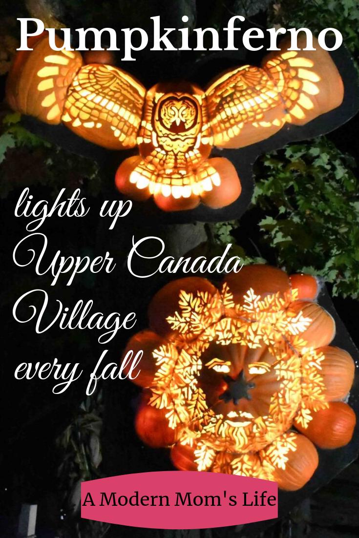 Pumpkinferno lights up Upper Canada Village every fall