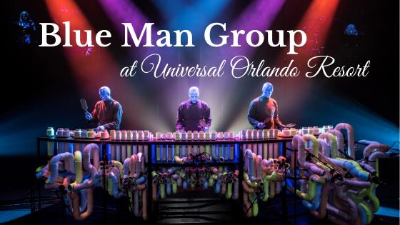 Blue Man Group at Universal Orlando