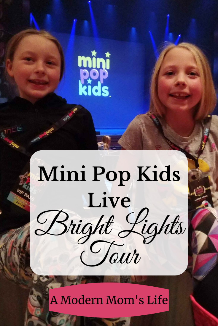 Mini Pop Kids Live Bright Lights Tour