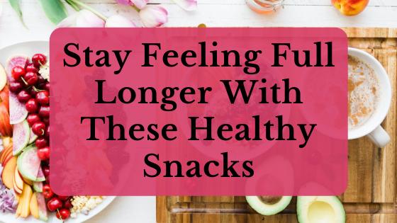 stay feeling full longer