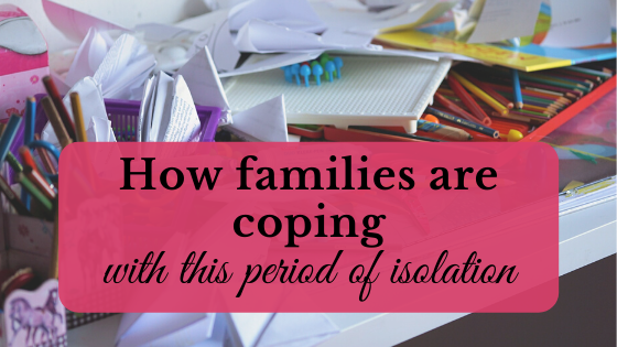 how families are coping