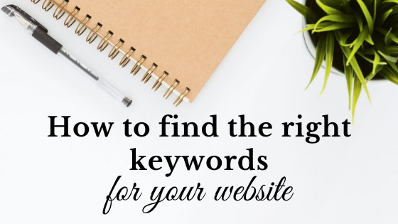 find the right keywords