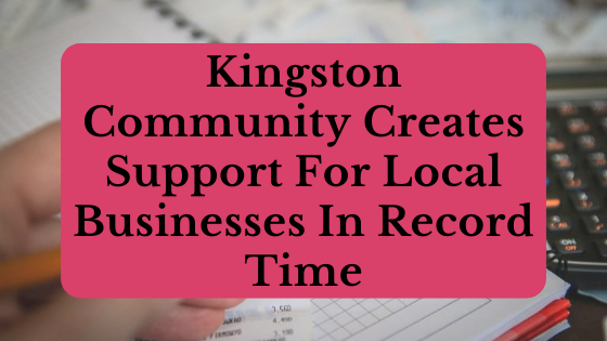 support local business Kingston