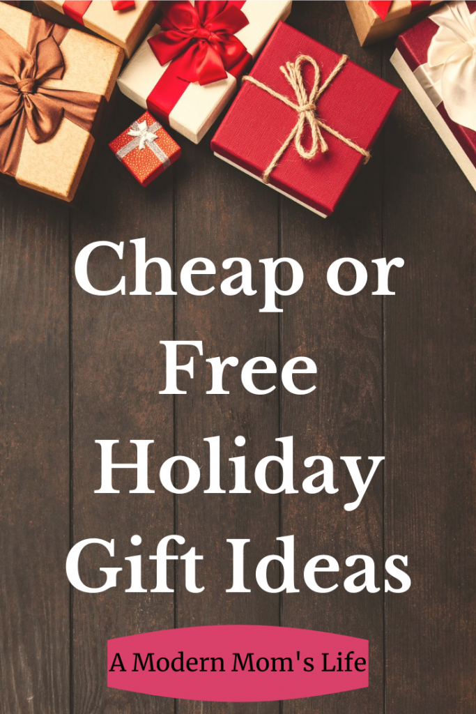 Cheap or Free Holiday Gift Ideas